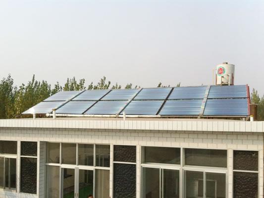 家用太阳能采暖